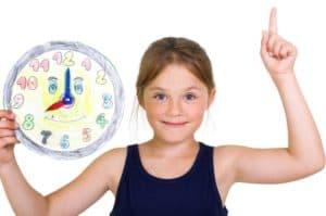 Uhrzeit lernen in der Grundschule