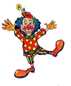 Clown Uhrzeit