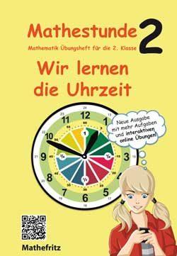 Arbeitsbuch wir lernen die Uhrzeit