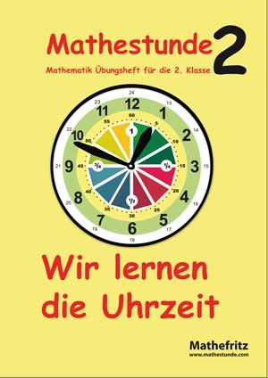 Uhrzeit lernen Übungsbuch